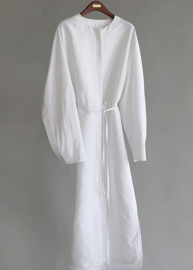 917 White Summer Shirt Dress